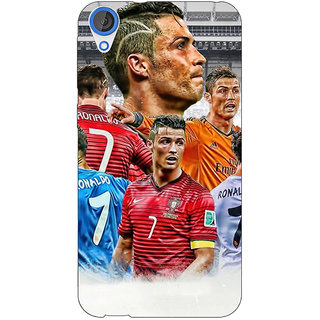 EYP Cristiano Ronaldo Real Madrid Back Cover Case For HTC Desire 820Q 290310