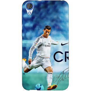 EYP Cristiano Ronaldo Real Madrid Back Cover Case For HTC Desire 820Q 290313