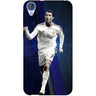 EYP Cristiano Ronaldo Real Madrid Back Cover Case For HTC Desire 820Q 290316