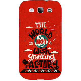 EYP TFIOS Wish Granting Factory  Back Cover Case For Samsung Galaxy S3 Neo GT- I9300I 350113