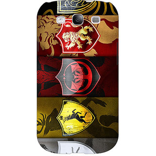 EYP Game Of Thrones GOT  Back Cover Case For Samsung Galaxy S3 Neo GT- I9300I 350119