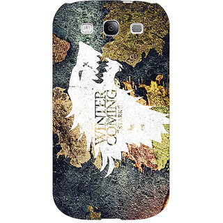 EYP Game Of Thrones GOT House Stark  Back Cover Case For Samsung Galaxy S3 Neo GT- I9300I 350124