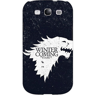 EYP Game Of Thrones GOT House Stark  Back Cover Case For Samsung Galaxy S3 Neo GT- I9300I 350135