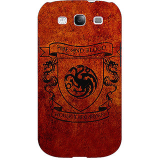 EYP Game Of Thrones GOT House Targaryen  Back Cover Case For Samsung Galaxy S3 Neo GT- I9300I 350151