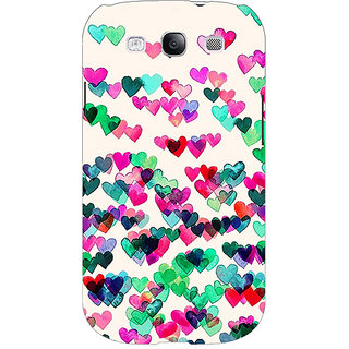 EYP Hearts in the Air Pattern Back Cover Case For Samsung Galaxy S3 Neo GT- I9300I 350233