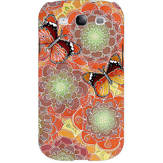 EYP Butterflies Pattern Back Cover Case For Samsung Galaxy S3 Neo GT- I9300I 350261