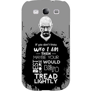 EYP Breaking Bad Heisenberg Back Cover Case For Samsung Galaxy S3 Neo GT- I9300I 350427