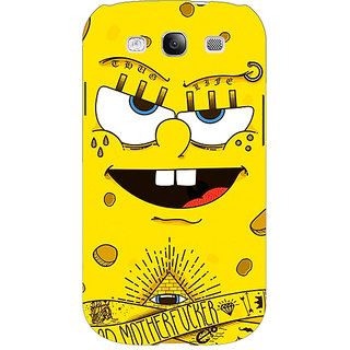 EYP Spongebob Back Cover Case For Samsung Galaxy S3 Neo GT- I9300I 350466