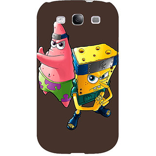 EYP Spongebob Patrick Back Cover Case For Samsung Galaxy S3 Neo GT- I9300I 350471