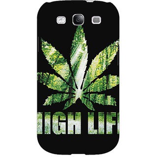 EYP Weed Marijuana Back Cover Case For Samsung Galaxy S3 Neo GT- I9300I 350496
