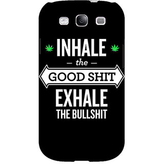 EYP Weed Quotes Back Cover Case For Samsung Galaxy S3 Neo GT- I9300I 350500