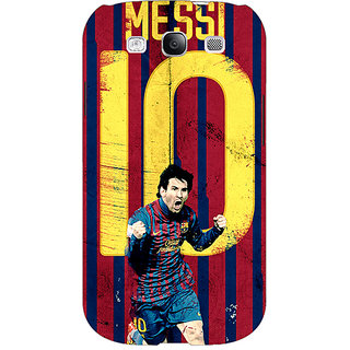 EYP Barcelona Messi Back Cover Case For Samsung Galaxy S3 Neo GT- I9300I 350528