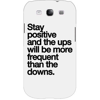 EYP Quotes Back Cover Case For Samsung Galaxy S3 Neo 341187