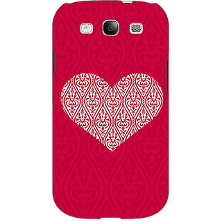 EYP Hearts Back Cover Case For Samsung Galaxy S3 Neo GT- I9300I 351425