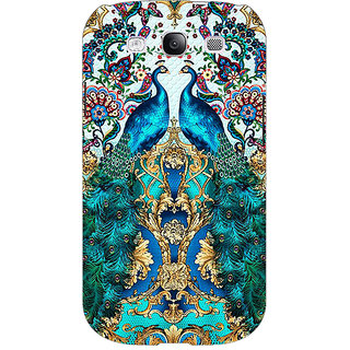EYP Paisley Beautiful Peacock Back Cover Case For Samsung Galaxy S3 Neo 341593