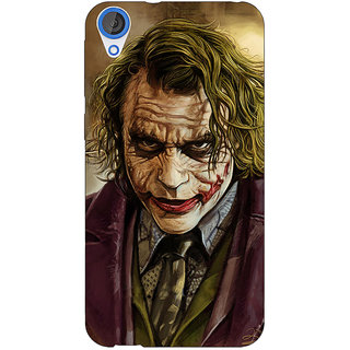 EYP Villain Joker Back Cover Case For HTC Desire 820Q Dual Sim 360050