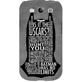 EYP Superheroes Batman Dark knight Back Cover Case For Samsung Galaxy S3 Neo GT- I9300I 350001