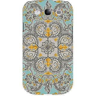 EYP Vintage Floral Pattern Back Cover Case For Samsung Galaxy S3 Neo GT- I9300I 350262