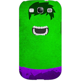 EYP Superheroes Hulk Back Cover Case For Samsung Galaxy S3 Neo GT- I9300I 350322