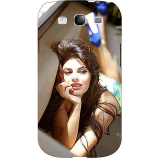 EYP Bollywood Superstar Jacqueline Fernandez Back Cover Case For Samsung Galaxy S3 Neo GT- I9300I 350996