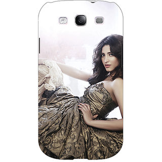 EYP Bollywood Superstar Shruti Hassan Back Cover Case For Samsung Galaxy S3 Neo GT- I9300I 351014
