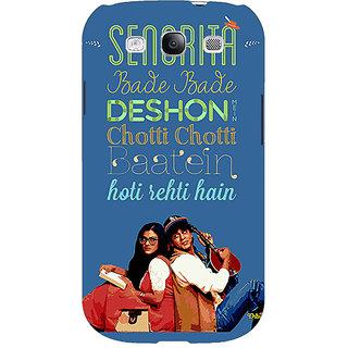 EYP Bollywood Superstar DDLJ Back Cover Case For Samsung Galaxy S3 Neo GT- I9300I 351097