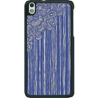 EYP Beauty Curtains Pattern Back Cover Case For HTC Desire 816G 400239