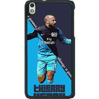 EYP Arsenal Therry Henry Back Cover Case For HTC Desire 816G 400505
