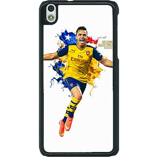 EYP Arsenal Back Cover Case For HTC Desire 816G 400511