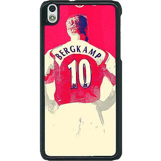 EYP Arsenal Dennis Bergkamp Back Cover Case For HTC Desire 816G 400513