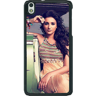 EYP Bollywood Superstar Parineeti Chopra Back Cover Case For HTC Desire 816G 401062