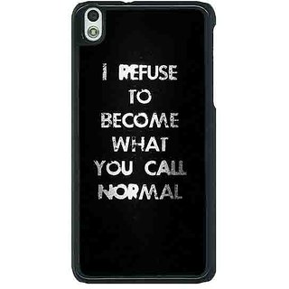 EYP Quote Back Cover Case For HTC Desire 816G 401336