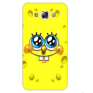EYP Spongebob Back Cover Case For Samsung Galaxy E7