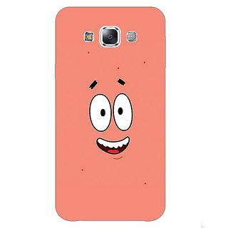 EYP Spongebob Patrick Back Cover Case For Samsung Galaxy E7