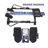 ROWING EXERCISE MACHINE TONES YOUR AB, HIPS, THIGHS