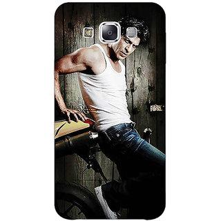EYP Bollywood Superstar Shahrukh Khan Back Cover Case For Samsung Galaxy E5