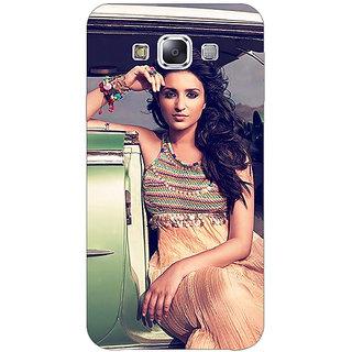 EYP Bollywood Superstar Parineeti Chopra Back Cover Case For Samsung Galaxy E5