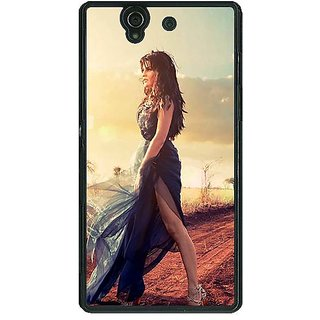 EYP Bollywood Superstar Jacqueline Fernandez Back Cover Case For Sony Xperia Z