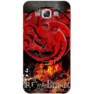 EYP Game Of Thrones GOT Targaryen Back Cover Case For Samsung Galaxy A5