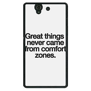 EYP Quotes Back Cover Case For Sony Xperia Z