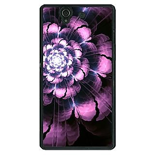 EYP Abstract Flower Pattern Back Cover Case For Sony Xperia Z