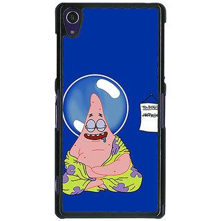 EYP Spongebob Patrick Back Cover Case For Sony Xperia Z1