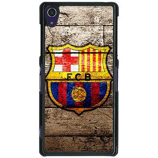 EYP Barcelona Back Cover Case For Sony Xperia Z1