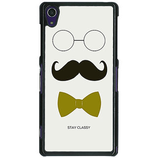 EYP Mustache Back Cover Case For Sony Xperia Z1