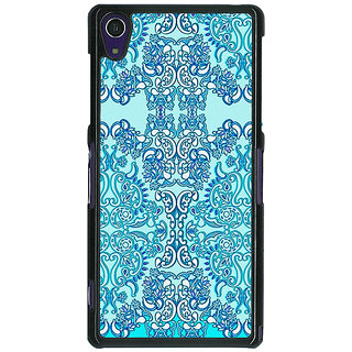 EYP Pattern  Back Cover Case For Sony Xperia Z1