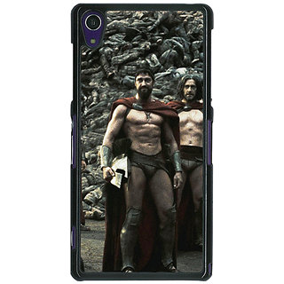 EYP King Leonidas Spartan Back Cover Case For Sony Xperia Z1