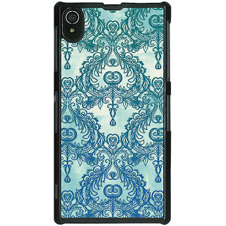 EYP Vintage Pattern Back Cover Case For Sony Xperia Z2