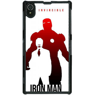EYP Superheroes Ironman Back Cover Case For Sony Xperia Z2