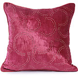 SHANEEL - Deep Pink Velvet Cushion Cover With Swarovski - Set Of 2
