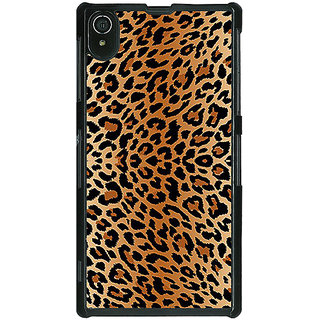 EYP Cheetah Leopard Print Back Cover Case For Sony Xperia Z2